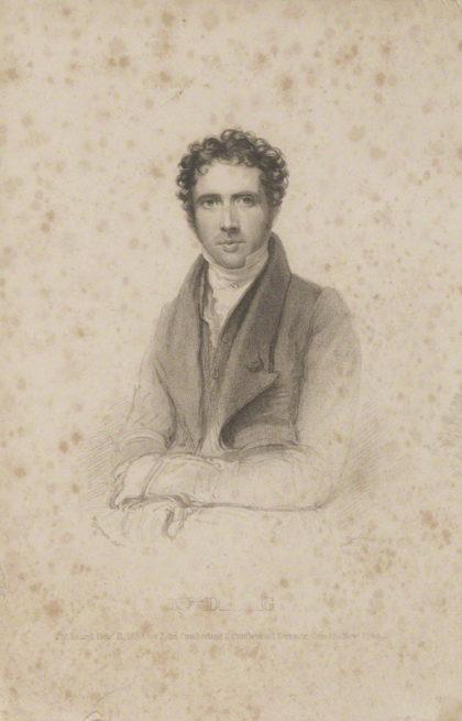 by Richard Woodman, published by John Cumberland, after Thomas Charles Wageman, stipple engraving, published 1838